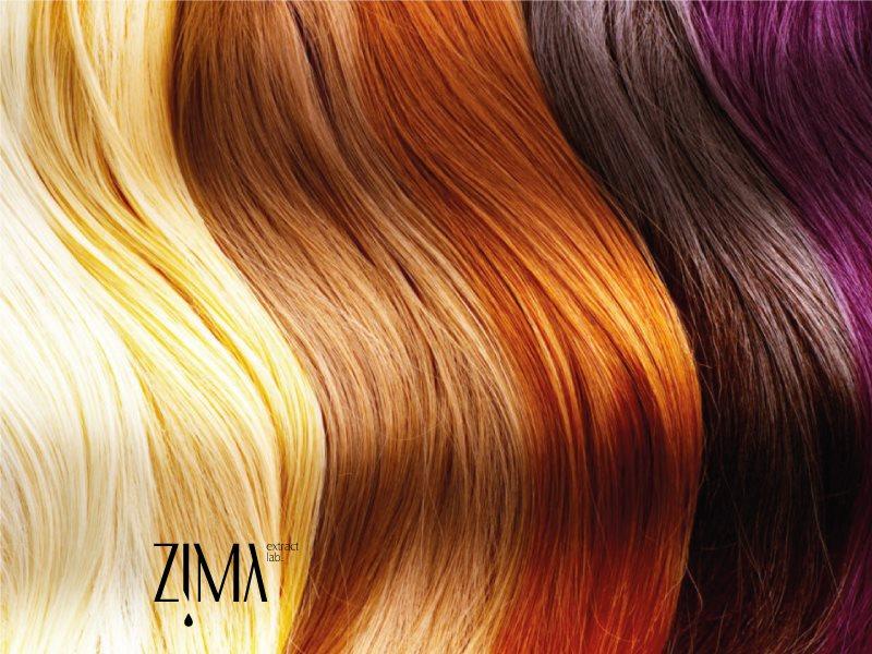 ترمیم موهای رنگ شده با روش های گیاهی