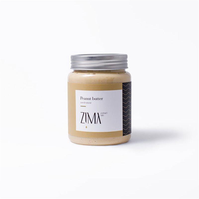 کره بادام زمینی خالص، بدون شکر و مواد افزودنی زیمالب